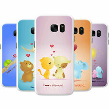 Animals Pairs Love Is All Around Hard Back Case Phone Cover for OnePlus Phones