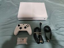 New listing Microsoft Xbox One S 1Tb Console w/ a controller, batteries, power & hdmi cord.