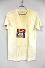 VTG T Shirt London Square Buster Brown Graphic 1970s 50/50 White M Thin Indie