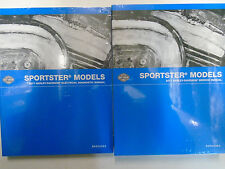 2017 Harley Davidson SPORTSTER MODELS Service Repair Shop Manual Set W Electric