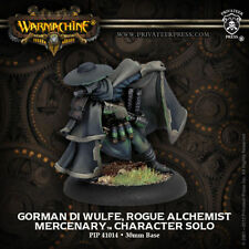 Warmachine: Mercenaries Gorman di Wulfe, Rogue Alchemist Solo PIP 41014