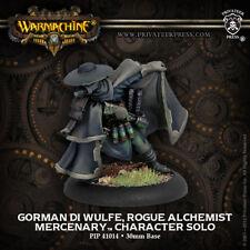 Warmachine: Mercenaries Gorman di Wulfe, Rogue Alchemist Solo PIP 41014