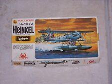 Maquette HASEGAWA  1/72ème HEINKEL He51B-2