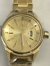JBW J6287L Men's Rook 18K Gold Plated Ss Silver-Tone Dial Watch
