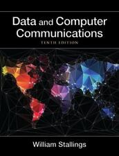 DATA AND COMPUTER COMMUNICATIONS 9780133506488 - WILLIAM STALLINGS HARDCOVER NEW