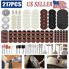 Rotary Tool Accessories Kit Sanding Cutting Polishin Bits For Dremel Tools USA