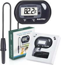 New listing Lcd Digital Aquarium Thermometer For Fish Tank Marine Reptiles Insects Lizard Te