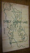 1973 EARLY GRAND LAKE MICHIGAN HISTORY BOOK GEORGE KAUFFMAN 1ST EDITION