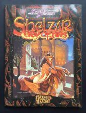 Shelzar City Of Sins - d20 - Sword & Sorcery - Scarred Land - 3rd Ed Fantasy RPG