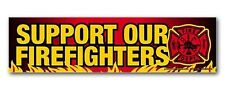 Support Our Firefighters Bumper Strip Magnet | M-5R-SFIR