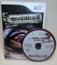 Manhunt 2 (Nintendo Wii, 2007) In Box Tested No Manual