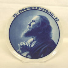"Anton Lang 1922 ROSENTHAL OBERAMMERGAU Passion Play JESUS Christ 8.5"" Plate"