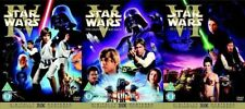 Star Wars The Original Trilogy 6 Disc DVD UK Set Theatrical Cinema Release RARE