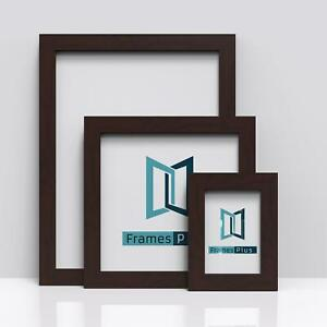 MAHOGANY Picture Frames Square Photo Modern Poster Frame A1 A2 A3 A4 A5