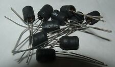 10 x MURATA 22r106 10mh 63ma 22r106c radiale PIOMBO Induttore