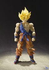 Dragon Ball Z Super Saiyan Goku Warrior Awakening SH Figuarts Action Figure NIB
