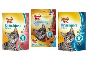 Meow Mix Brushing Bites  Asst Flavor