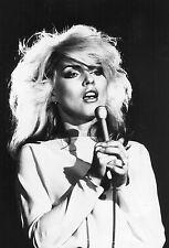 Framed Print - Blondie Debbie Harry (Picture Punk Rock Singer Photo Poster Art)