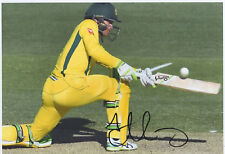 ALEX CAREY - Signed 12x8 Photograph - SPORT - AUSTRALIA CRICKET