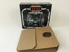 Brand New Star Wars ROTJ Kenner Battle Damaged Tie Fighter Box Inserts