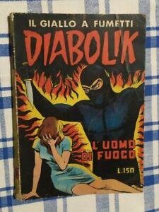 DIABOLIK seconda serie # 18- L'UOMO DI FUOCO  - ORIGINALE - 6 SETTEMBRE 1965