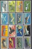 1981 Wills's Embassy World of Speed Tobacco Cards Complete Set of 36