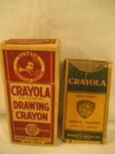 Vintage Crayola Crayons Rubens Gold Medal Binney & Smith Co. No. 24