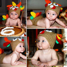Newborn Baby Crochet Turkey Baby Set Diaper Cover Costume Photo Prop Pattern