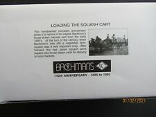 Dept 56 Heritage Village Bachman'S 110 Anniversary Horse-Drawn Squash Cart #7536