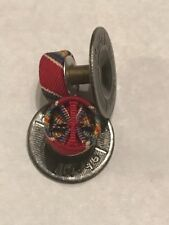 Orig WW2 Victory Medal Lapel Rosette French Made Orig