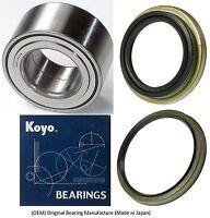 Front Wheel Hub Bearing & Seal (OEM) KOYO For Toyota Tundra 4x4 4WD 2000-2006