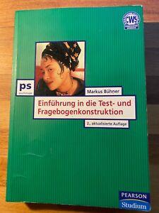 Einführung in die Einführung in die Test- und Fragebogenkonstruktion