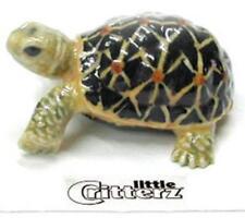 "Little Critterz Miniature Porcelain Animal Figure Tortoise ""Star"" LC309"