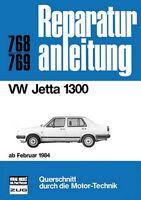 VW Jetta 1300 ab Feb. 1984 Reparaturanleitung Reparatur-Handbuch Reparaturbuch