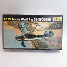 Heller - 1/72 Focke Wulf Fw 56 STOSSER Model Kit-dans boîte d'origine