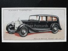 No.36 ROLLS ROYCE PHANTOM lll - Motor Cars, A Series - John Player 1936