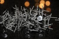 100 Mèches pour Bougies Chauffe-Plat 3 cm Fabriquer Bricolage Votive Rd 2
