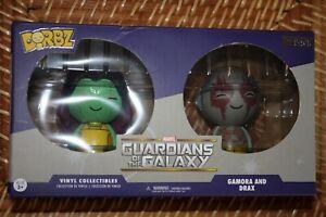 Funko Dorbz Disney Store Exclusive Guardians of the Galaxy Gamora & Drax 2-pack