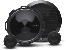 """ROCKFORD FOSGATE P1675-S 6.75"""" PUNCH 120W CAR COMPONENT SPEAKERS TWEETERS NEW"""