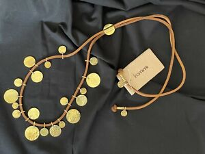 Handmade Moroccan Contemporary Mixed Floos Long Strand Necklace – New with tags