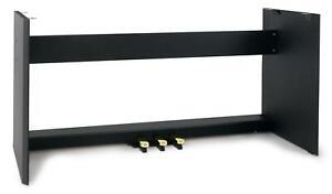Support pour McGrey Stage Piano Clavier 3 Pédales Matériau Bois 132,5cm x 62,5cm