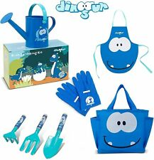More details for jardineer 7pcs kids gardening set with tote bag and watering cans