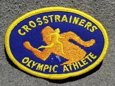 LMH Patch CROSSTRAINERS OLYMPIC ATHLETE Cross Trainer Runner Fitness Training