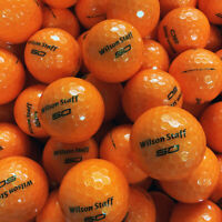 NEW Wilson Staff Fifty Elite Bulk Golf Balls Orange - Pick the Quantity!
