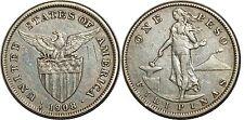 PHILIPPINES PESO 1908 S KM#172