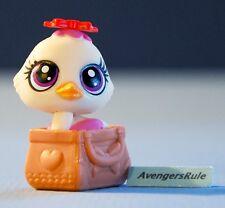Littlest Pet Shop Bags & Shoes Series 4 #4046 Chick Purple Wings