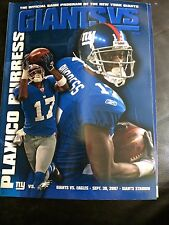 NEW York Giants V Philadelphia Eagles 2007 NFL a Giants Stadium