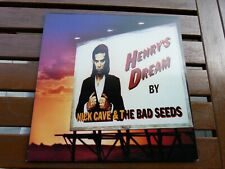 NICK CAVE AND THE BAD SEEDS HENRY'S DREAM Greek Test Pressing +inner MINT