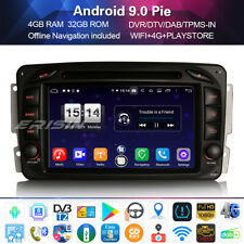 DAB+Autoradio for Mercedes Benz C/G/CLK Class W203 Android 9.0 GPS 4G+DVD 7""