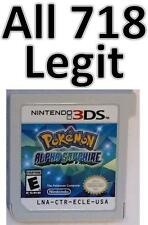 Authentic Pokemon Alpha Sapphire Unlocked All 48 Megastones Leftovers Blue orb